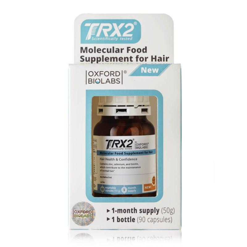 Maisto papildas plaukams TRX2®, OXFORD BIOLABS, 90 kapsulių