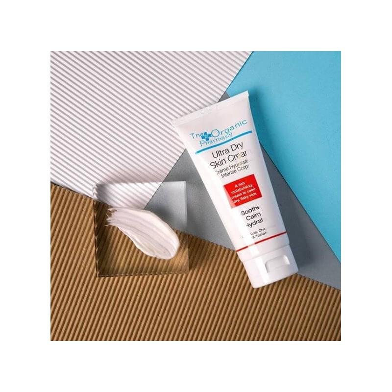 """Itin sausos odos kremas """"Ultra Dry Skin Cream"""", THE ORGANIC PHARMACY, 100ml"""