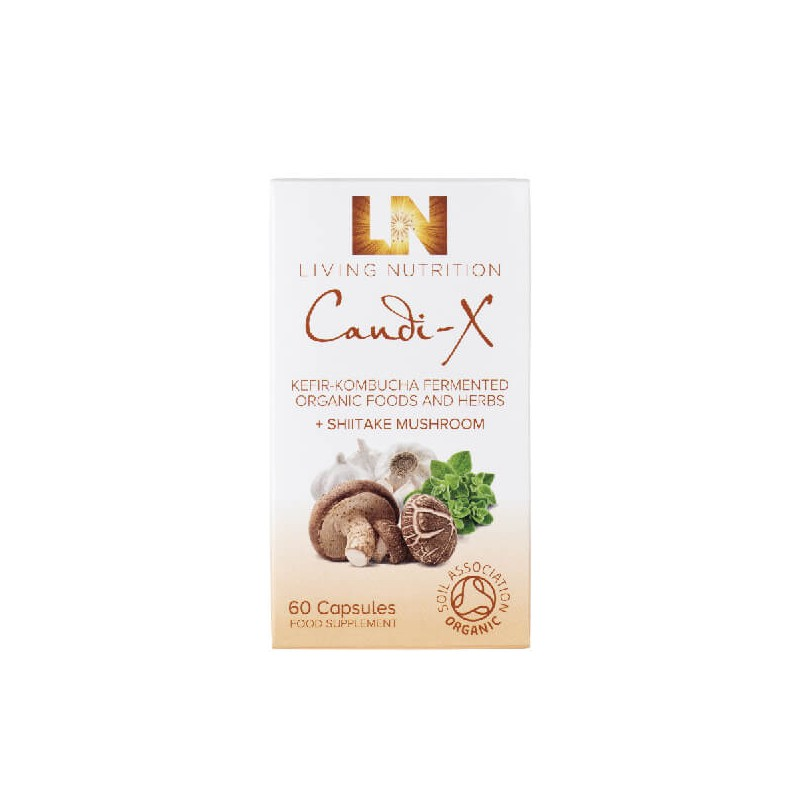 "Maisto papildas ""Organic Candi-X"", 60 kaps"