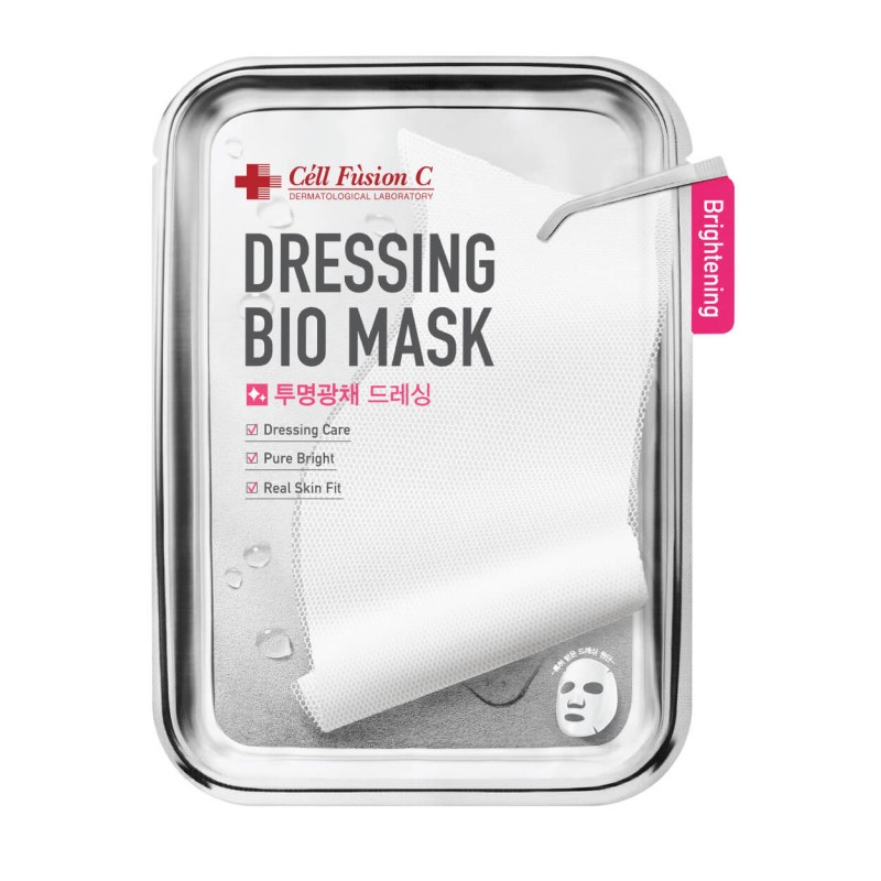 """Brightening Face Mask """"Dressing Bio Mask Brightening"""", CELL FUSION C, 25g, 1pc"""