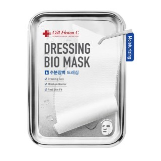 """Drėkinanti veido kaukė """"Dressing Bio Mask Moisturizing"""", CELL FUSION C, 25g, 1vnt"""