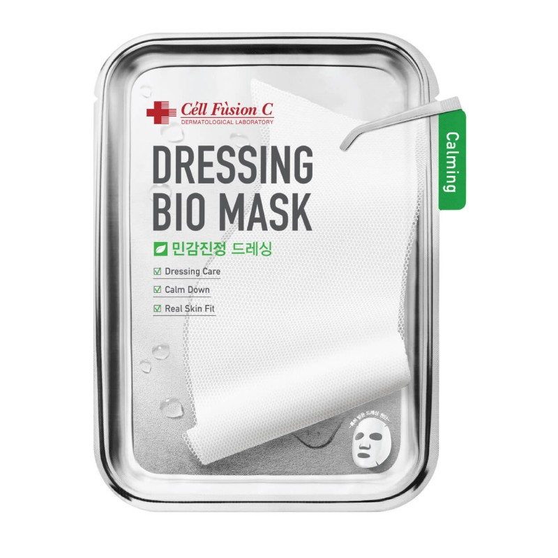"Raminanti veido kaukė ""Dressing Bio Mask Calming"", CELL FUSION C, 1vnt, 25g"