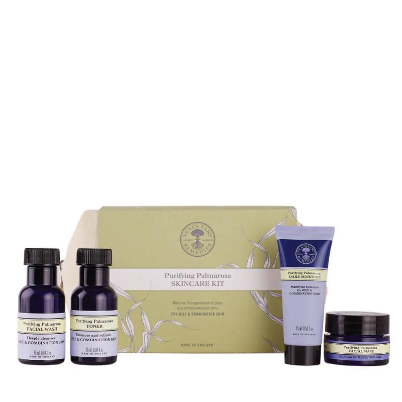 Purifying Palmarosa Skincare Kit, NEAL'S YARD REMEDIES