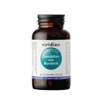 Dandelion with Burdock, VIRIDIAN, 60 capsules