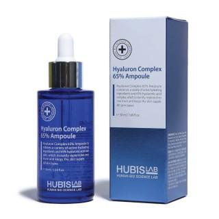 "Drėkinantis serumas sausai odai ""Hyaluron Complex 65% Ampoule"", HUBISLAB, 50ml"