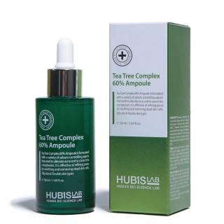 "Serumas riebiai odai su arbatmedžiu ""Tea Tree Complex 60% Ampoule"", HUBISLAB, 50ml"
