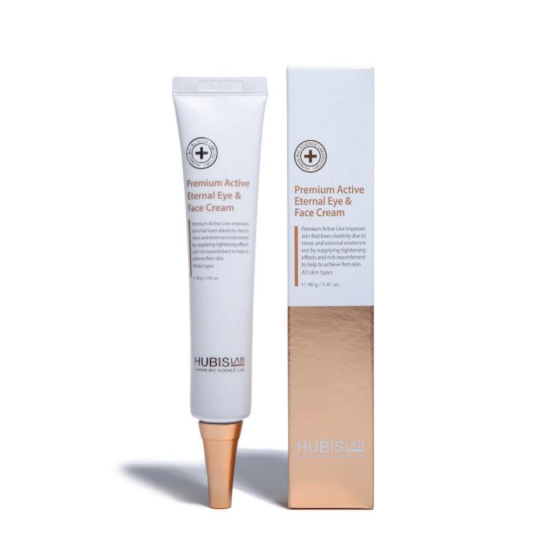 Premium Active Eternal Eye & Face Cream, HUBISLAB, 40ml
