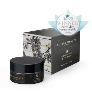 "Paakių kremas ""Gold Rush Eye Balm"", Edible Beauty, 15 ml"
