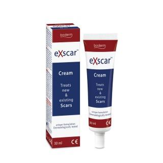 """Kremas naujų ir senų randų gydymu """"Exscar ΤΜ """", Boderm, 30ml"""