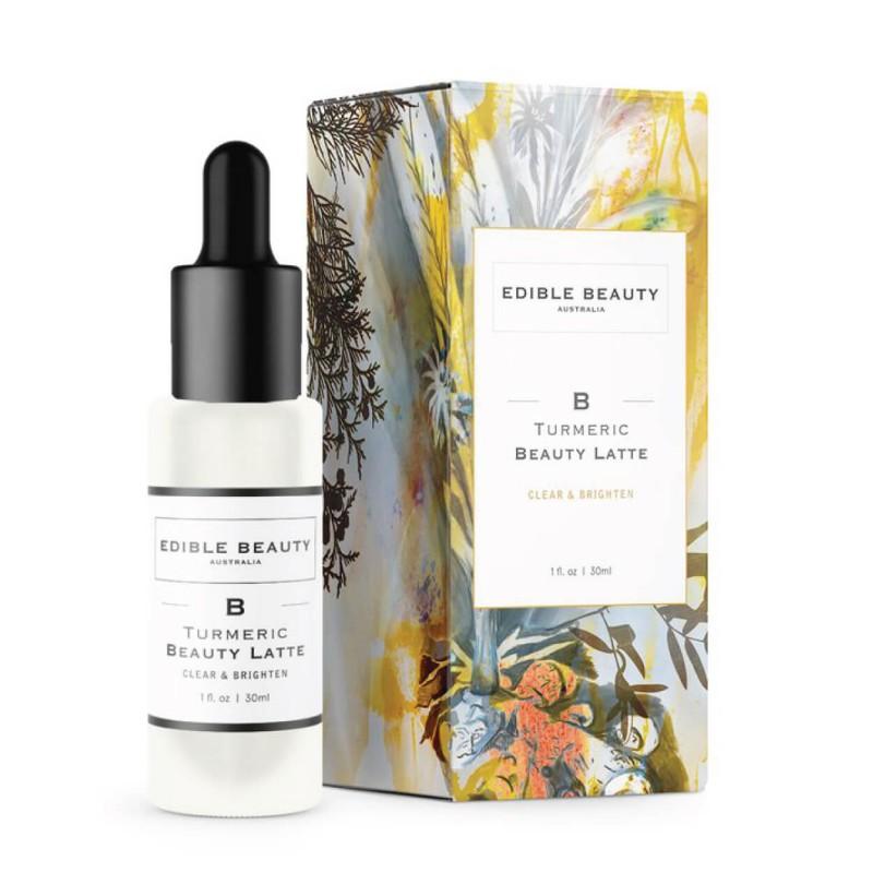 "Skaistinantis serumas ""Turmeric Beauty Latte Serum"", EDIBLE BEAUTY, 30ml"