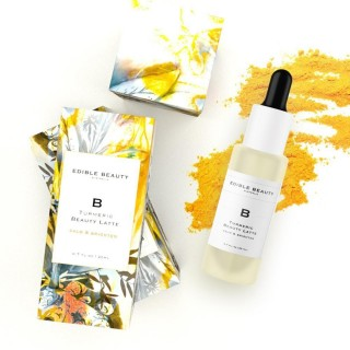 "Skaistinantis serumas ""Turmeric Beauty Latte Serum"", EDIBLE BEAUTY, 30ml"