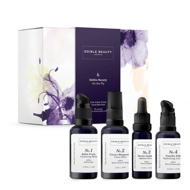 EDIBLE BEAUTY ON THE FLY - CORE 4 TRAVEL KIT