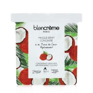Blancreme drėkinanti veido kaukė – serumas lapeliais Coconut, Blancreme, 1vnt