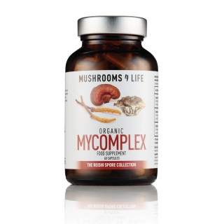 MyComplex mushroom supplement, 60 capsules