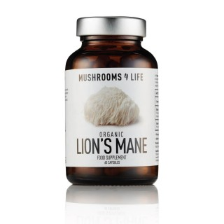 Lion's Mane, mushroom4life supplement, 60 capsules
