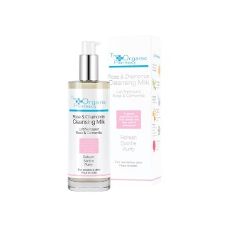 "Cleansing milk ""Rose & Chamomile Cleansing Milk"", THE ORGANIC PHARMACY, 100ml"