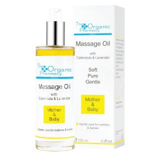"Masažo aliejus ""Mother & Baby Massage Oil"", THE ORGANIC PHARMACY, 100ml"