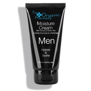 """Drėkinamasis veido kremas vyrams """"Men Moisture Cream"""", THE ORGANIC PHARMACY, 75ml"""
