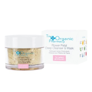 "Mask ""Flower Petal Deep Cleanser & Mask"", THE ORGANIC PHARMACY, 60g"