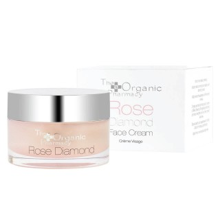 "Veido kremas ""Rose Diamond Cream"", THE ORGANIC PHARMACY, 50ml"