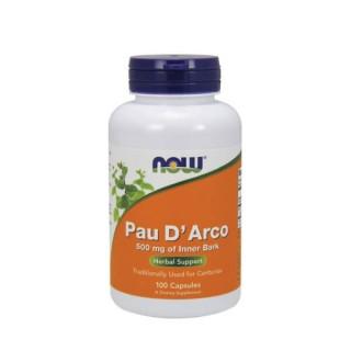 """Maisto papildas """"Pau D'Arco 500 mg"""" (Skruzdžių medžio žievė)"""