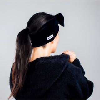 Newcrush galvos juosta su kaspinu, juoda