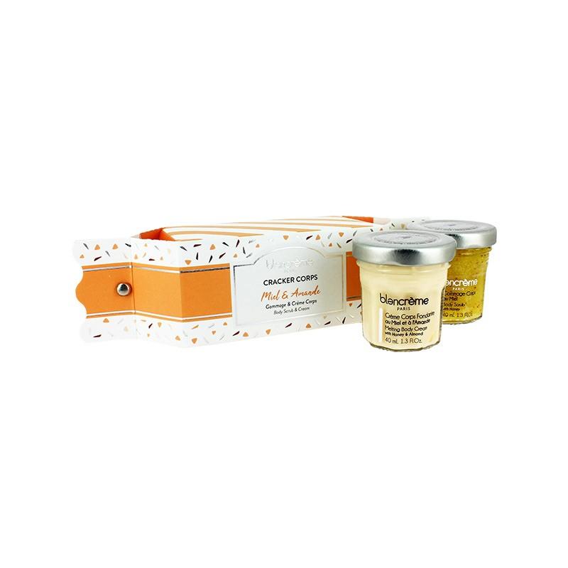 """Drėkinantis medaus aromato rinkinys kūnui """"Honey and Almond"""" blancreme"""