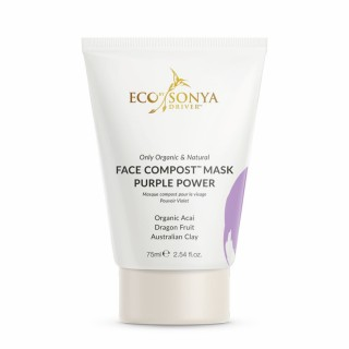 "Valanti veido kaukė ""Face Compost™ Purple Power Mask"", ECO by SONYA, 75ml"
