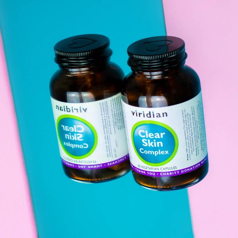 Clear Skin Complex, VIRIDIAN, 60 capsules