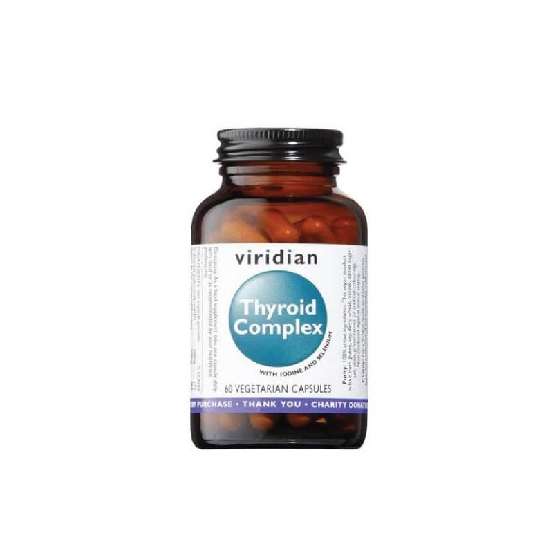 Thyroid Complex, VIRIDIAN, 60 capsules