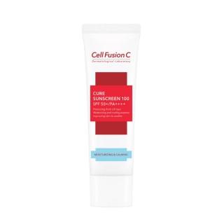 """Kremas nuo saulės """"Cure Sunscreen 100 SPF 50+ / PA++++"""", CELL FUSION C, 30ml"""