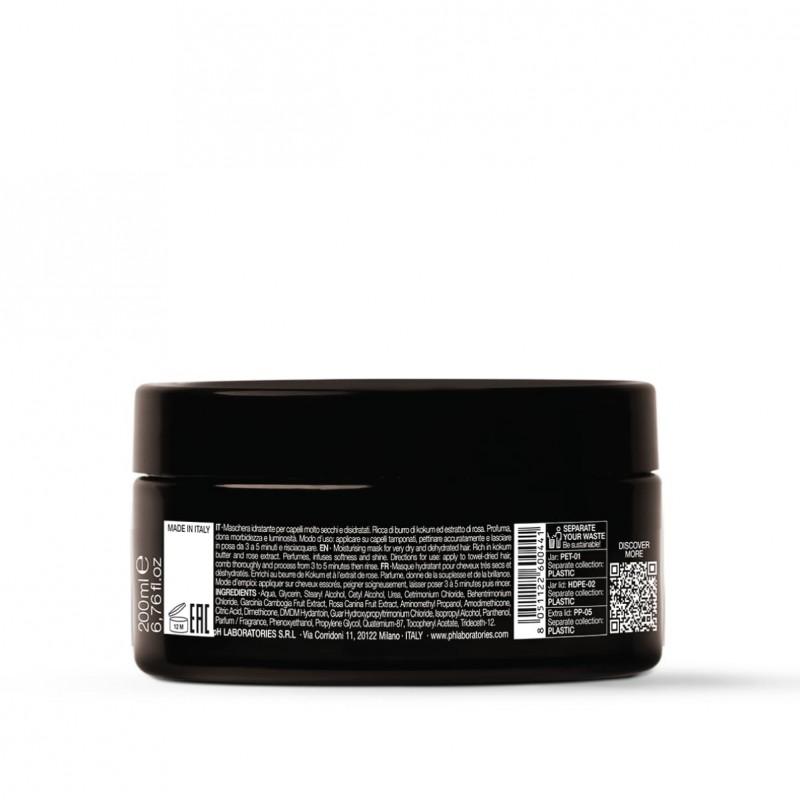 """Giliai drėkinanti plaukų kaukė """"EXTRA BUTTER DEEP MOISTURE"""", pH Laboratories, 250ml"""