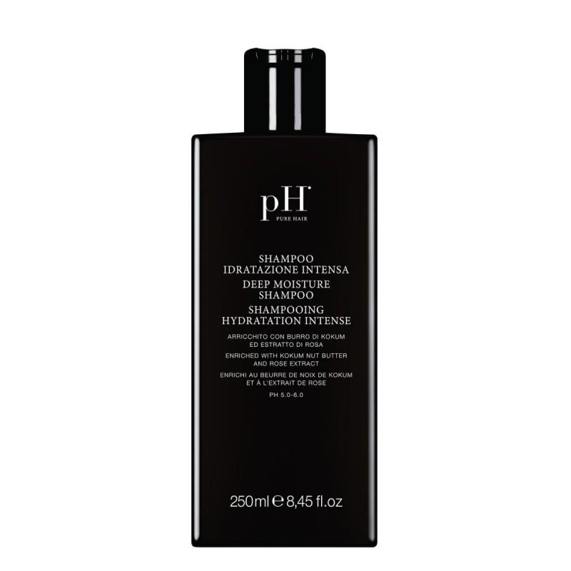 """Giliai drėkinantis šampūnas """"DEEP MOISTURE"""", pH Laboratories, 250 ml"""