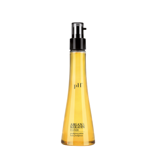 "Aliejukas plaukams  ""ARGAN & KERATIN ELIXIR"", pH Laboratories, 100 ml"