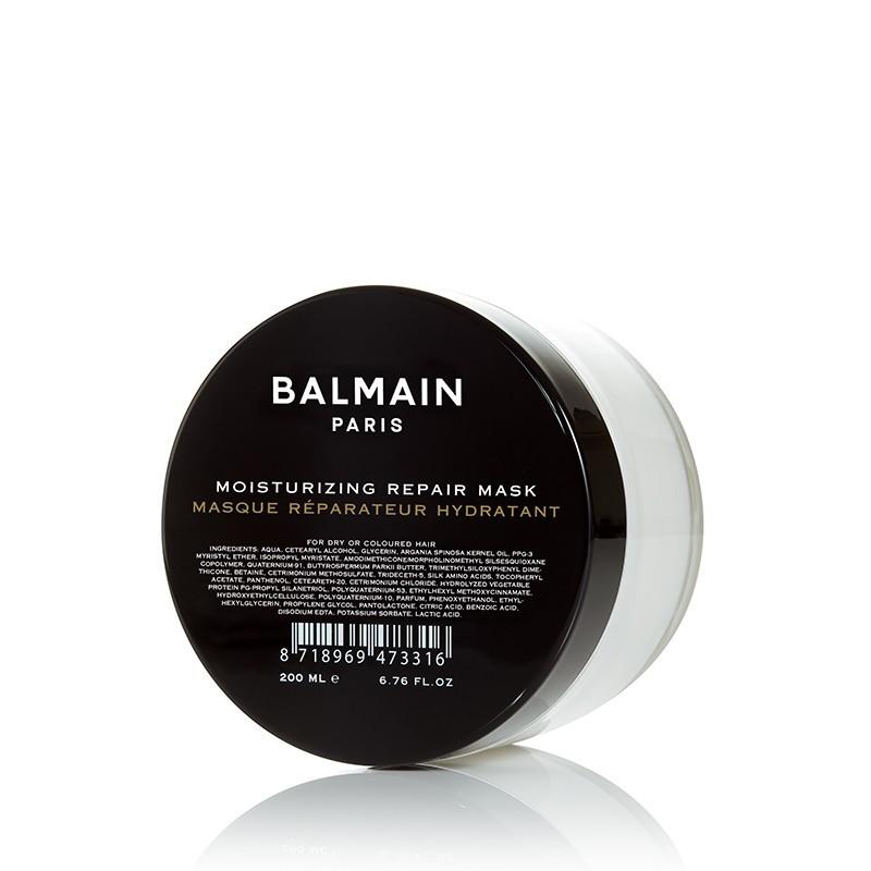 """Atgaivinanti plaukų kaukė """"Moisturizing Repair Mask"""", BALMAIN, 200 ml"""