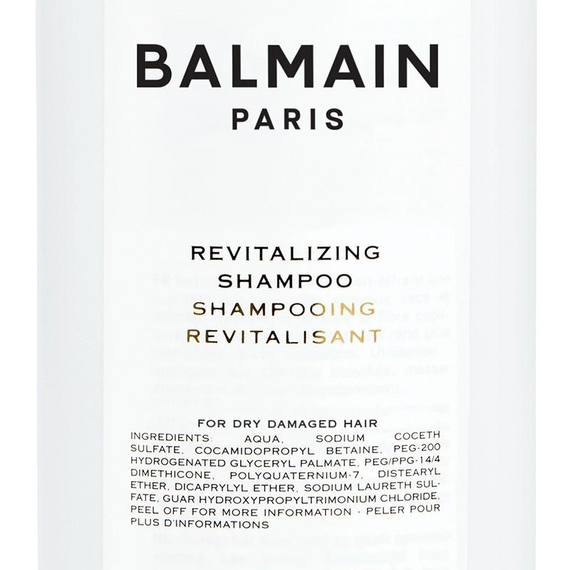 "Atgaivinantis plaukų šampūnas ""Revitalizing Shampoo"", BALMAIN, 300 ml"